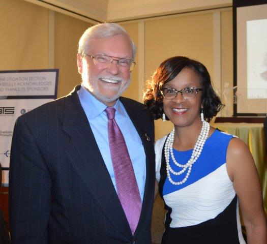 Chief Judge Gail S. Tusan and Deputy Chief Judge T. Jackson Bedford, Jr. .