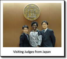 Visiting Judges from Japan