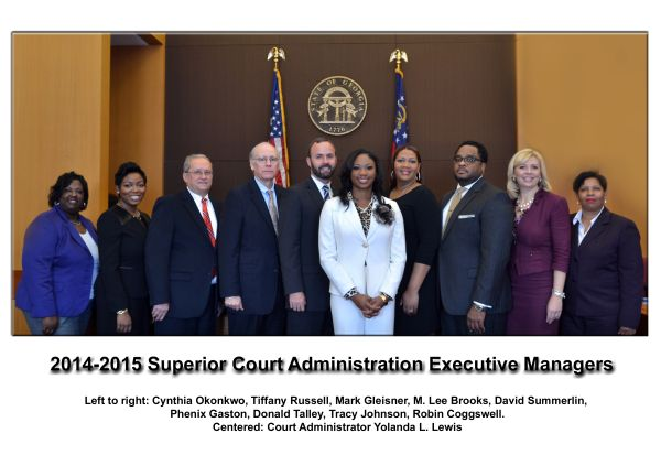 Superior Court Administration Executive Management Team